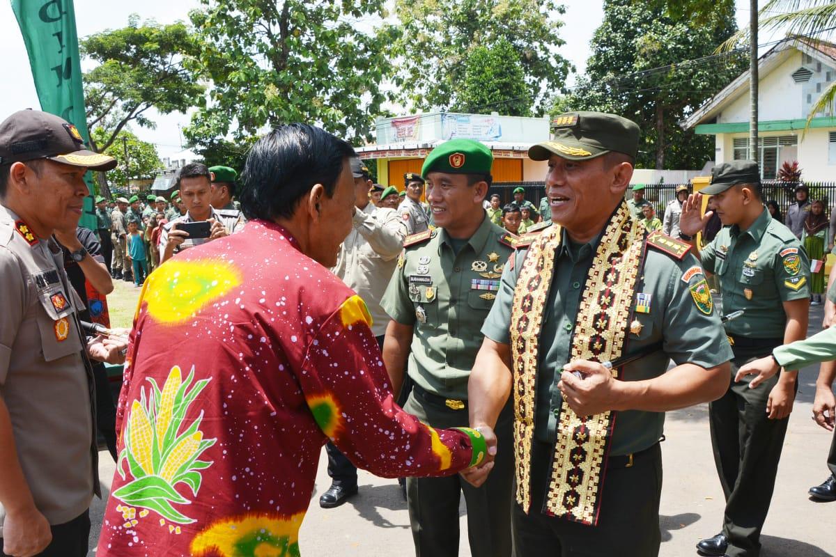 Kolonel Inf Taufiq Hanafi Kunjungi Kodim 0411/LT
