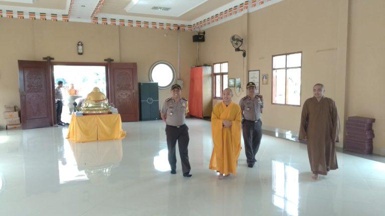 Jelang Perayaan Tahun Baru Imlek 2570, Kapolres Tuba Silaturahmi Ke Vihara