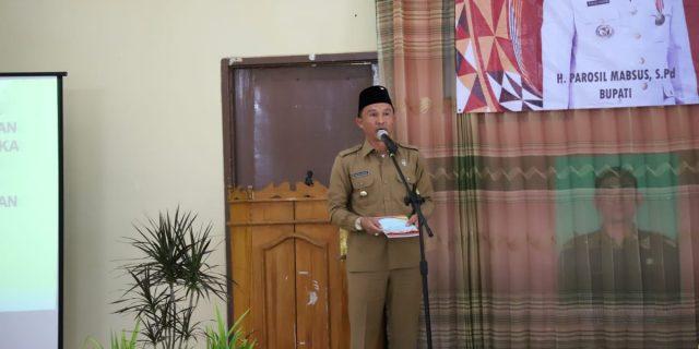 Bupati Lampung Barat Launching APB Pekon 2019