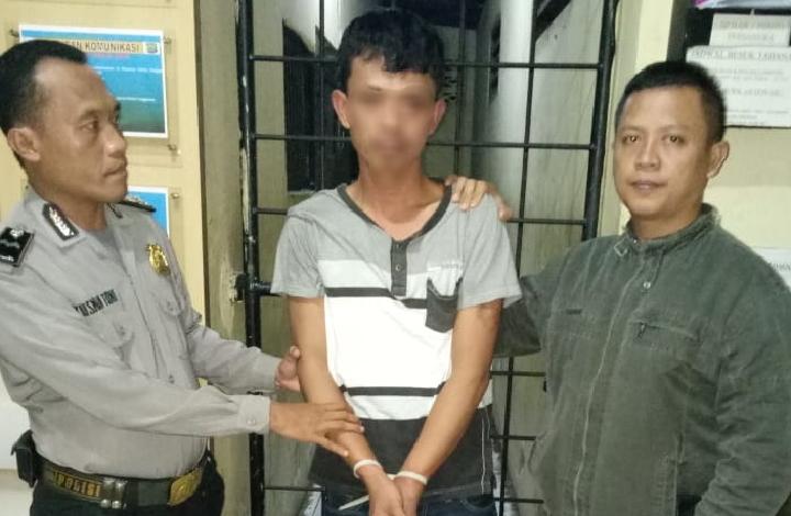 Akibat Membawa Pisau, SP diamankan Polisi
