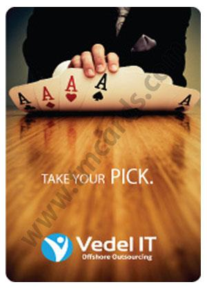 Vedel It Personalized Playing Cards