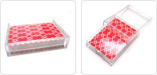 Transperant PVC playing card Packaging