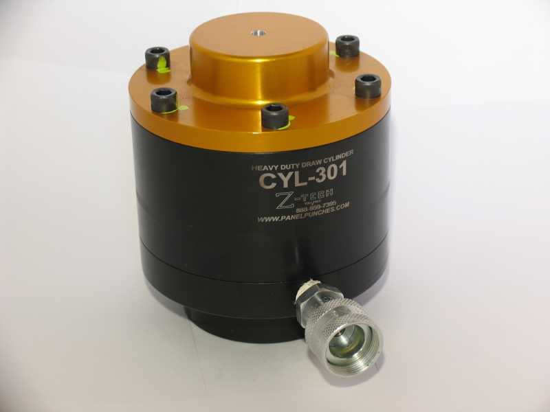 """Heavy duty draw cylinder for 300 series Die Set Includes 1"""" Pull Stud"""