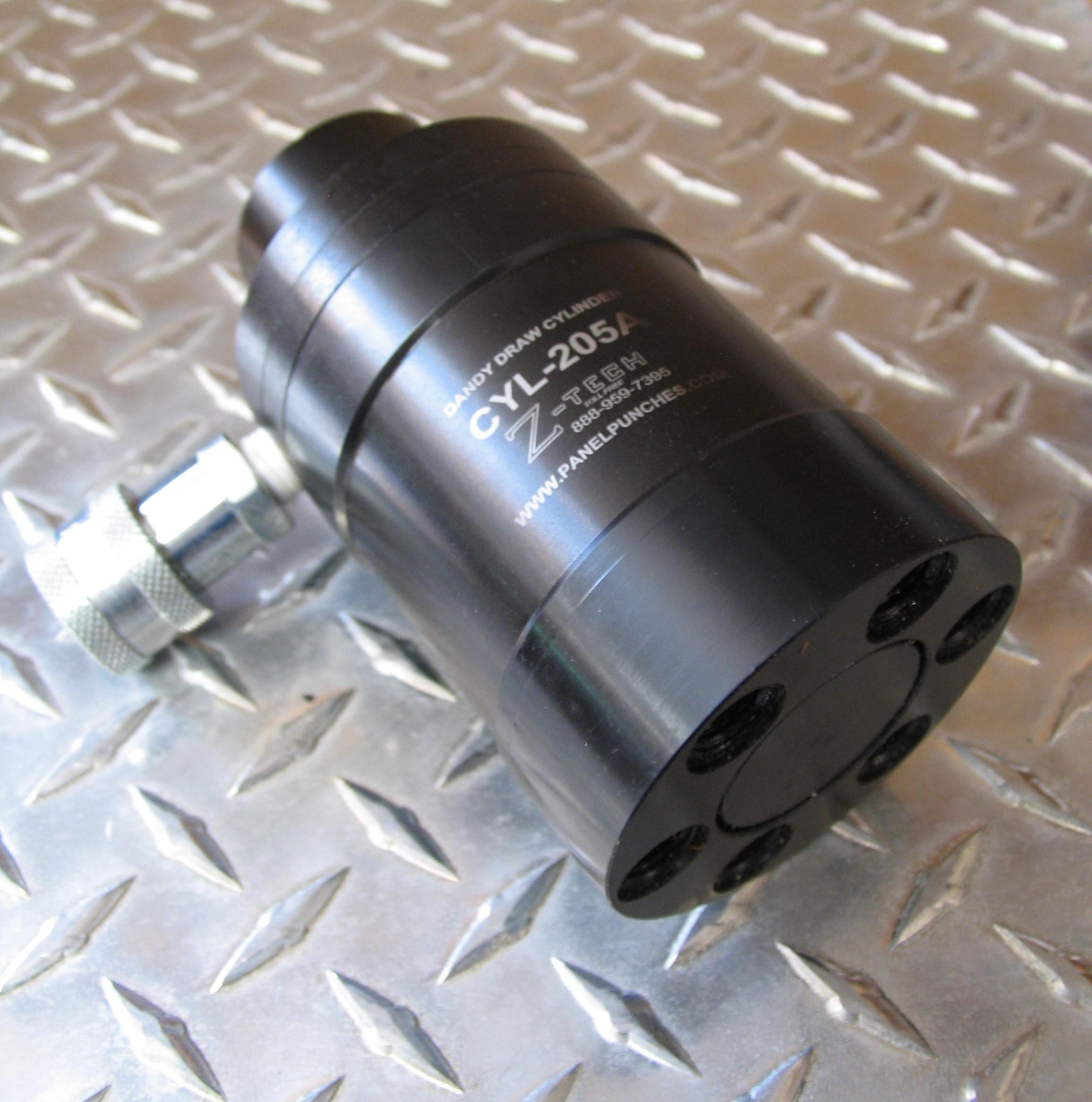 Universal Draw Cylinder -  Pulls all models of Dandy die as well as any standard Greenlee die set.