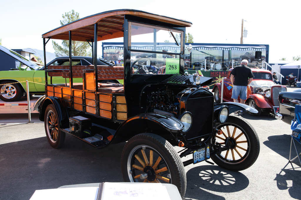 1922 Ford Model T Depot Hack - Top Notch Car Show 2019 1st winner in class 1 - 1940's and older stock.
