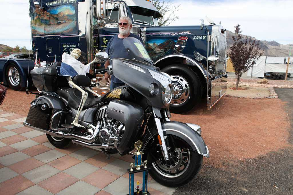 2016 Indian Roadmaster - Top Notch Car Show 2019 1st winner in class 8 - Motorcycles and other