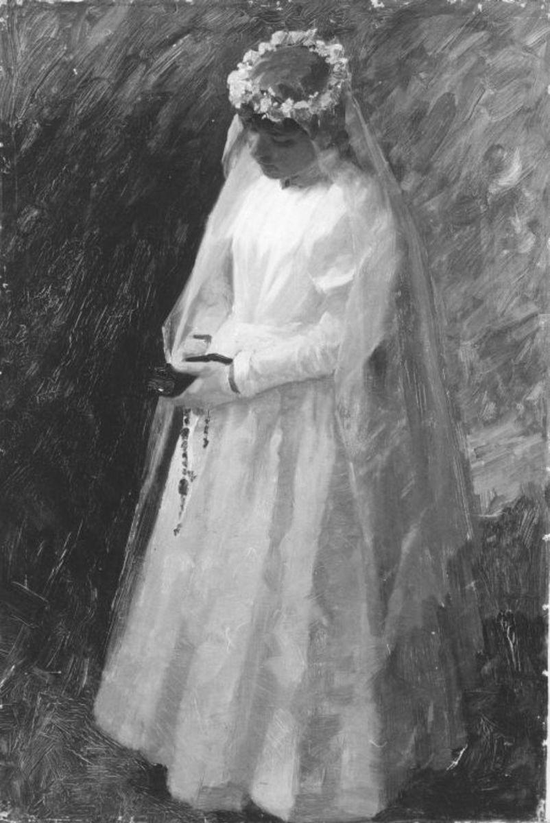 Kranzjungfrau