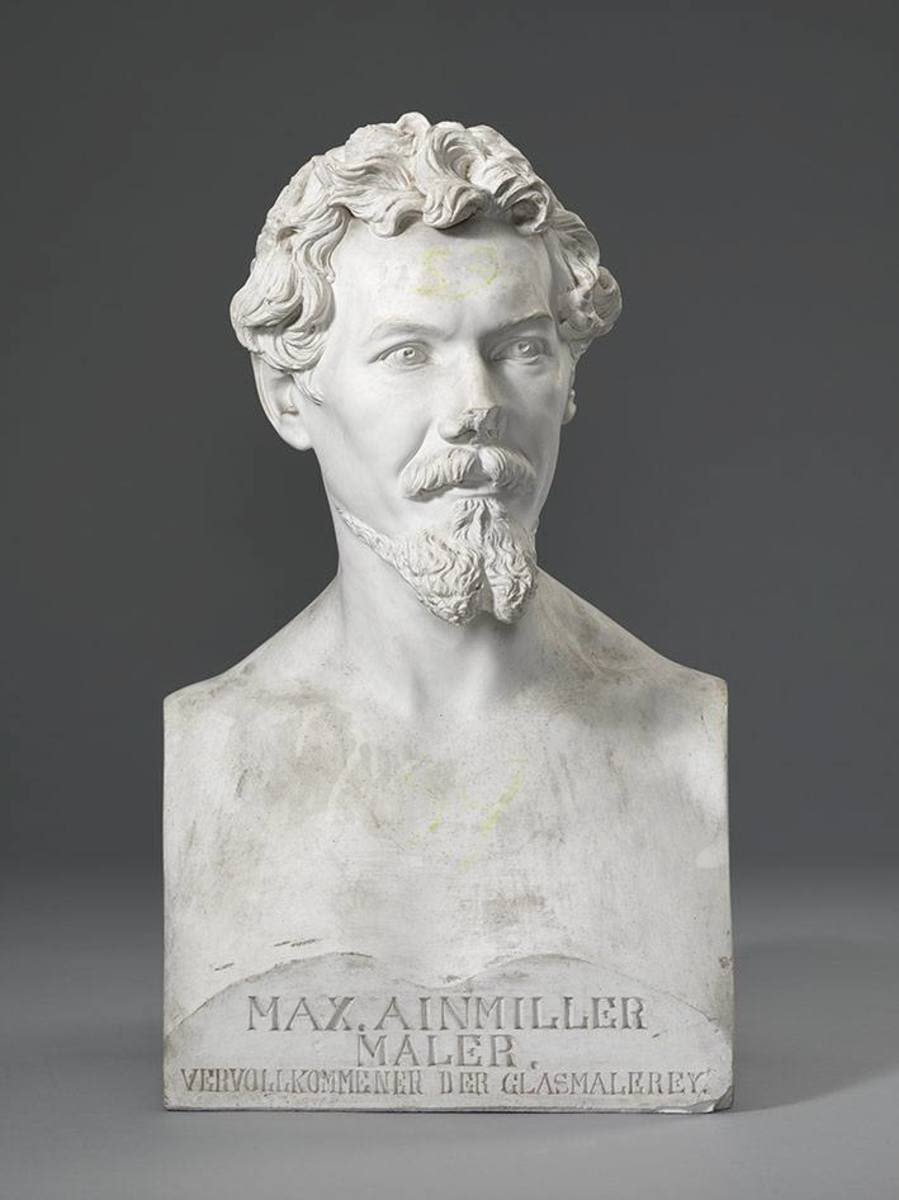 Der Maler Max Emanuel Ainmiller (1807-1870), Leiter der kgl. Glasmalereianstalt