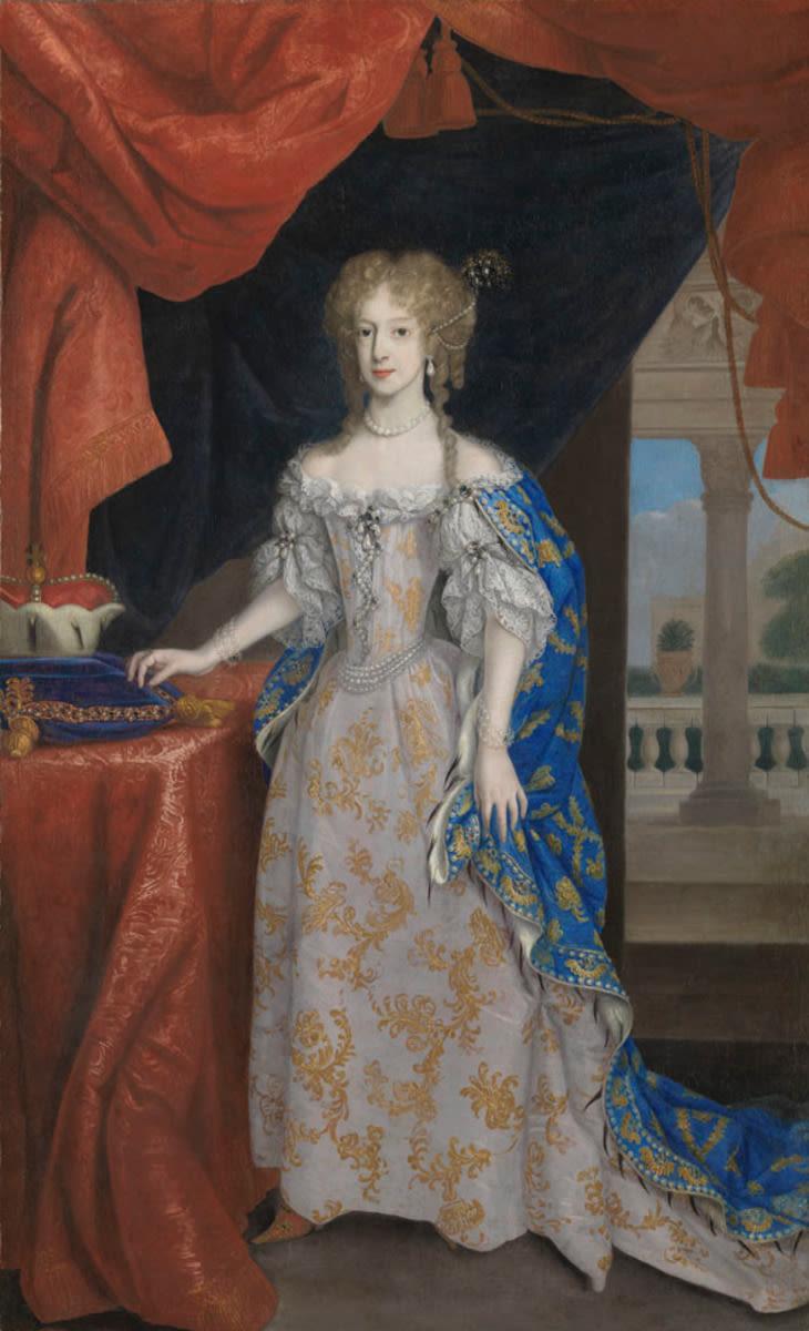 Bildnis der Ludwika Karolina von Radziwill, erste Gemahlin des Kurfürsten Karl III. Philipp von der Pfalz (1667-1695) (?)