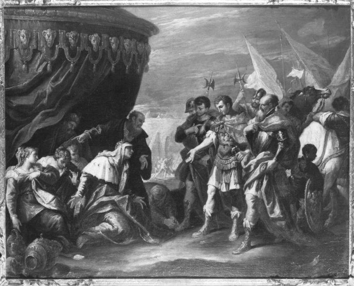 Die Familie des Darius vor Alexander dem Großen