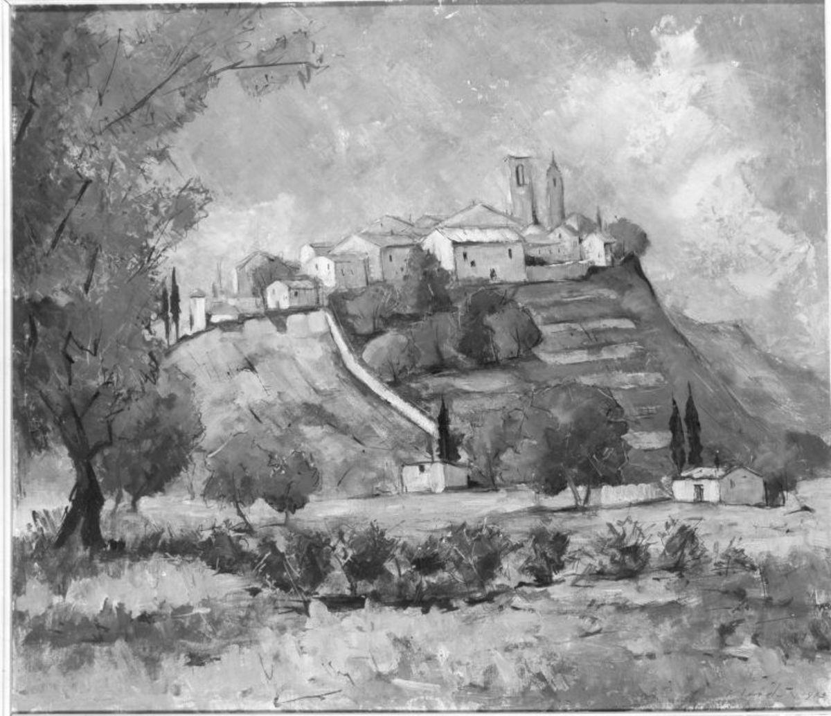 Südfranzösisches Bergdorf (Biot, Provence)