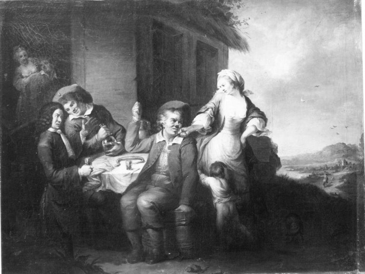"""Die Verwünschungsszene aus der Oper """"Le Bûcheron"""" von Philidor"""