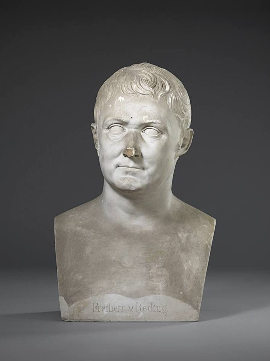 Der Schweizer Offizier und Staatsmann Alois Graf Reding von Biberegg (1765 - 1818)