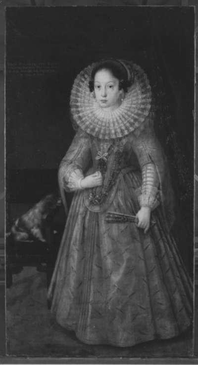 Bildnis der Prinzessin Maria Renata von Bayern (1616-1630) im Alter von sieben Jahren
