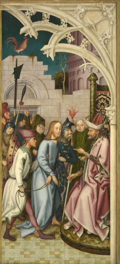 Kaisheimer Altar: Christus vor Pilatus