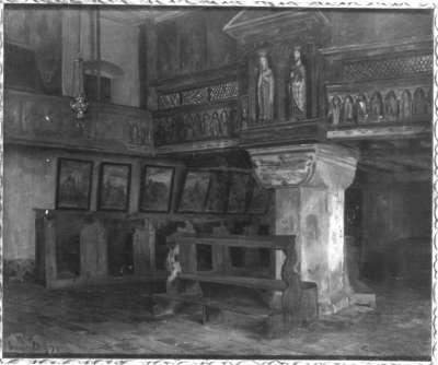 Interieur aus dem Kloster Seligenthal in Landshut
