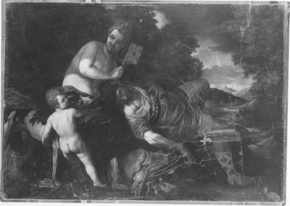 Venus mit dem schlafenden Adonis