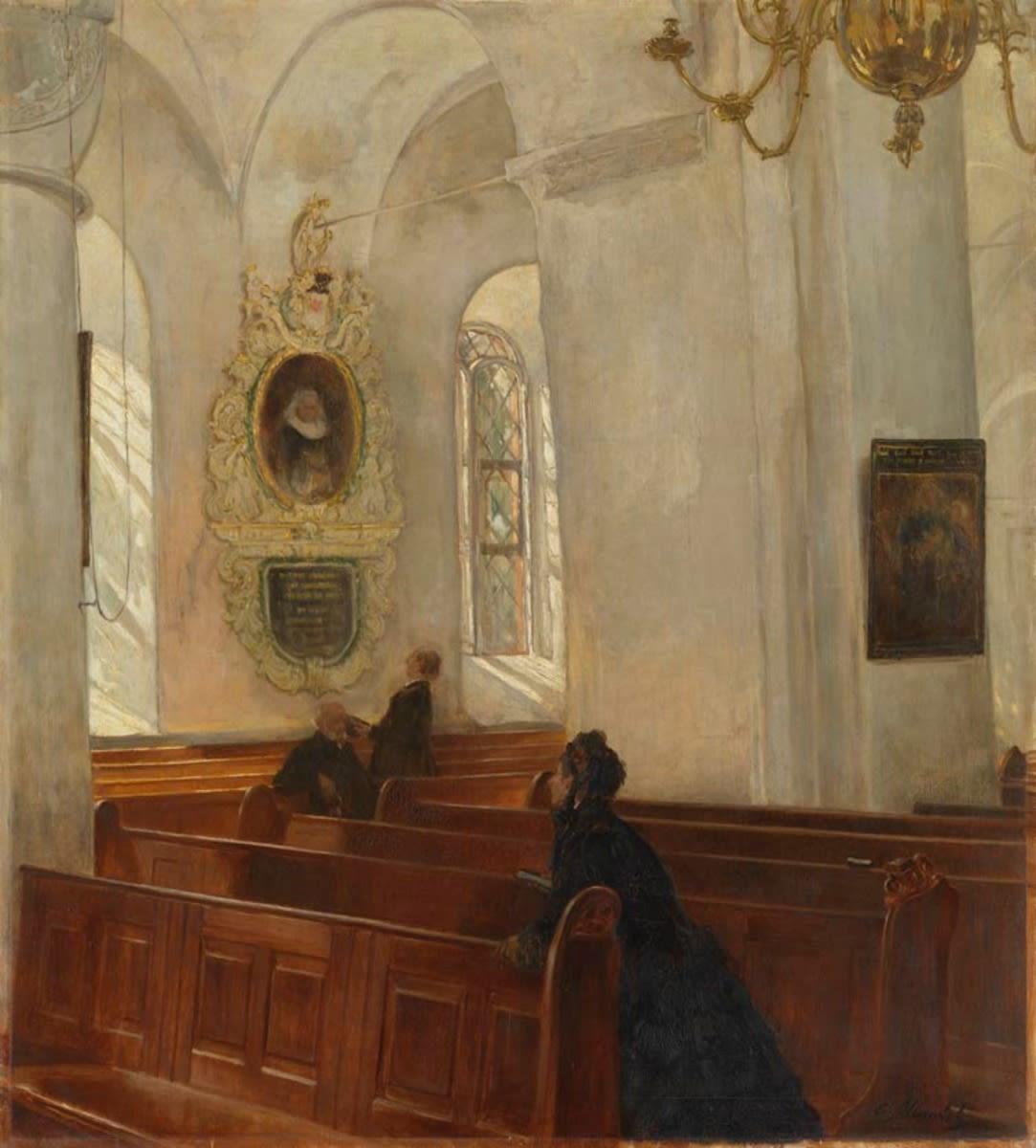 Alte Kirche in (Bad) Segeberg