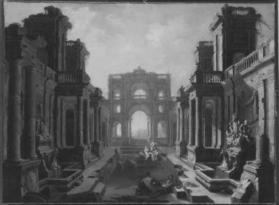 Ruinen römischer Thermen