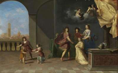 Die Kinder von Friedrich V. von der Pfalz und Elisabeth Stuart