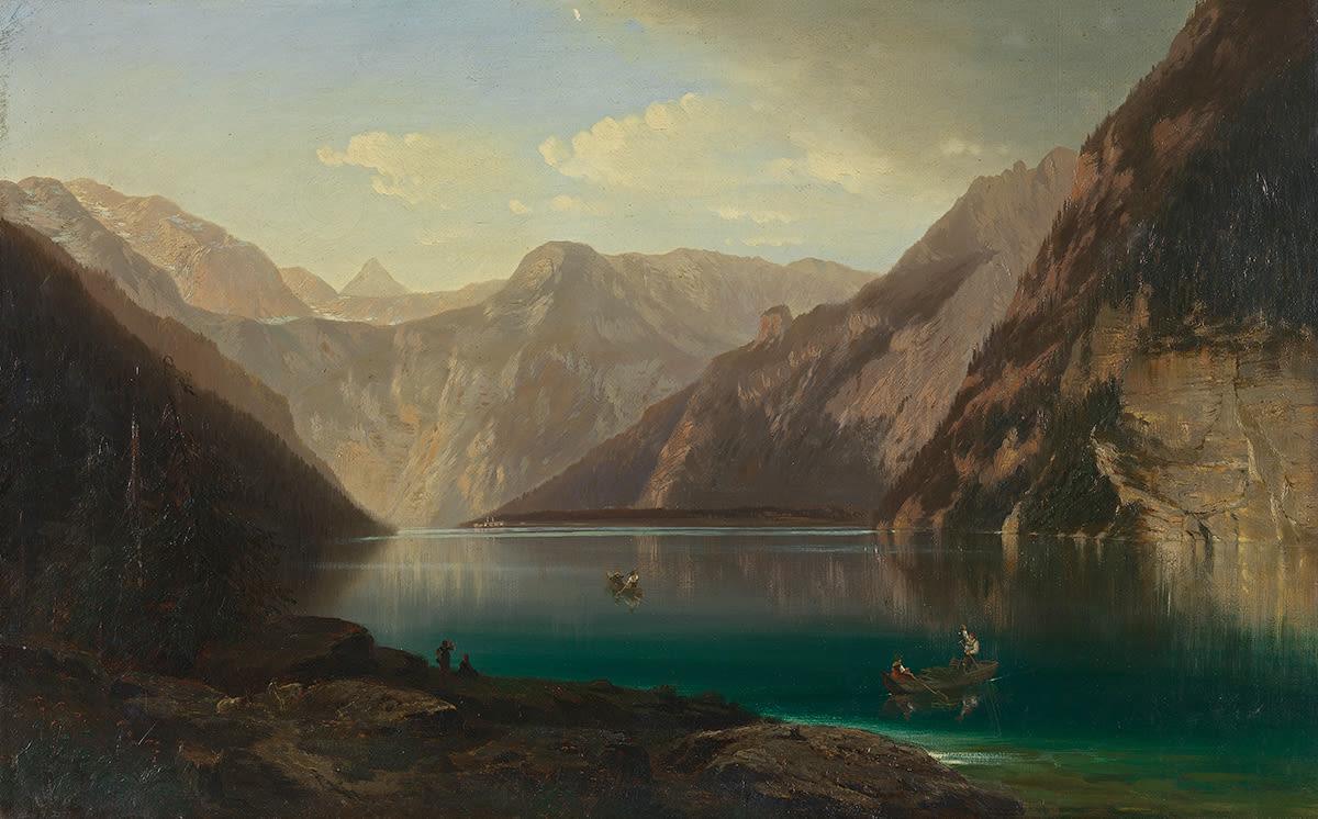 Der Königssee vom Malerwinkel aus