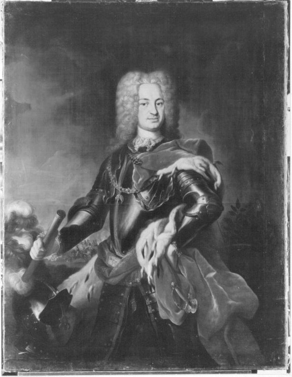 Bildnis des Joseph Karl Emanuel von Sulzbach als Feldherr (1694-1729)