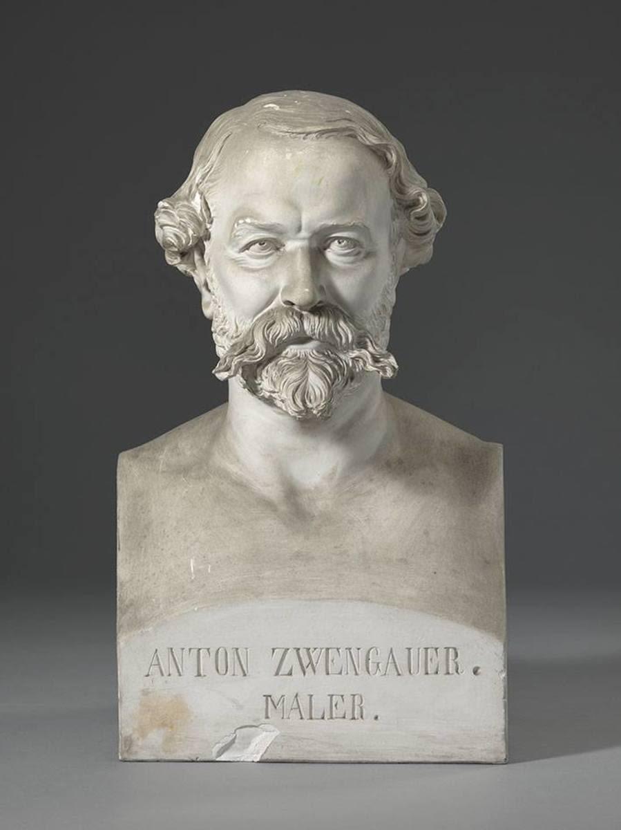 Der Landschaftsmaler Anton Zwengauer (1810 - 1884)
