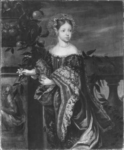 Bildnis der Prinzessin Leopoldine Eleonore von der Pfalz (1679-1693)