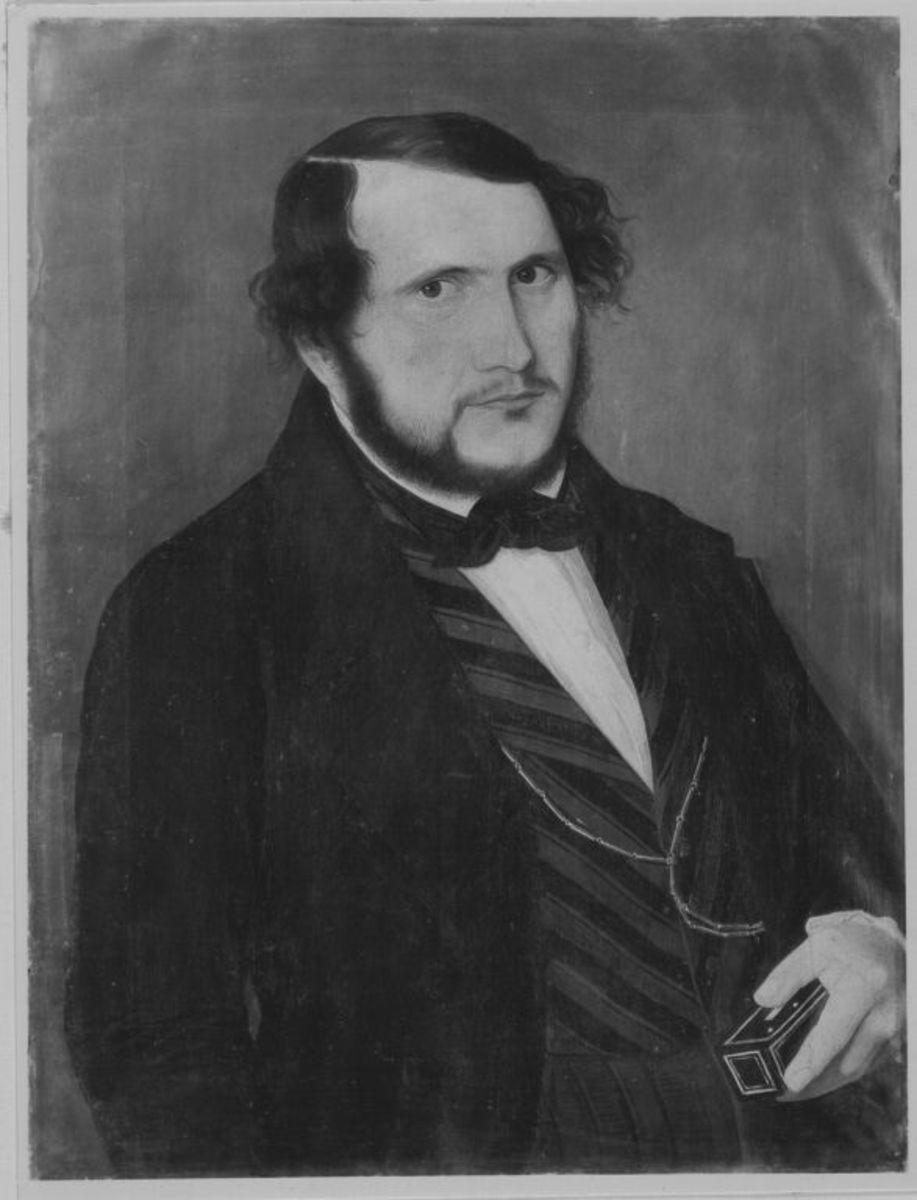 Bildnis eines Mannes in Halbfigur