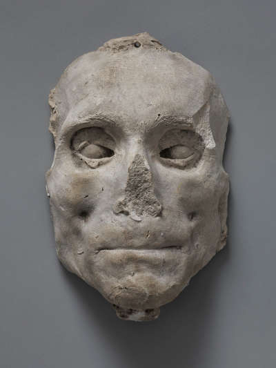 Totenmaske von Joseph Anton Sambuga (1752 - 1815)