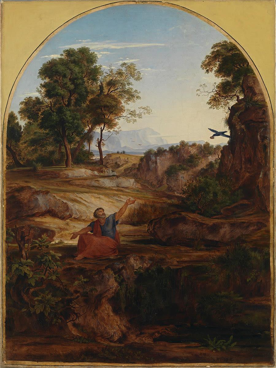 Elias in der Einöde