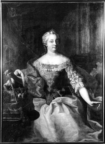 Maria Theresia, Tochter Kaiser Karls VI.