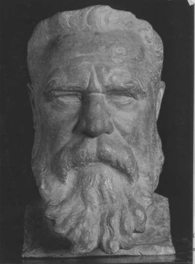 Bildnisbüste seines Freundes Etienne Terrus (1853-1922)