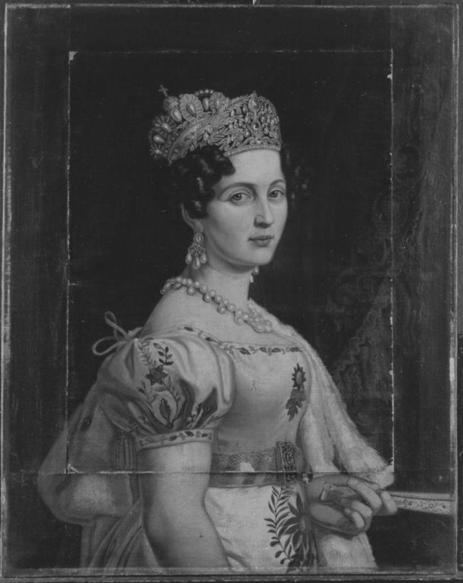 Königin Therese von Bayern (nach Stieler)