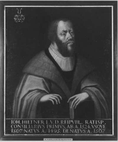 Bildnis Dr. Johannes Hiltner (1495-1567)