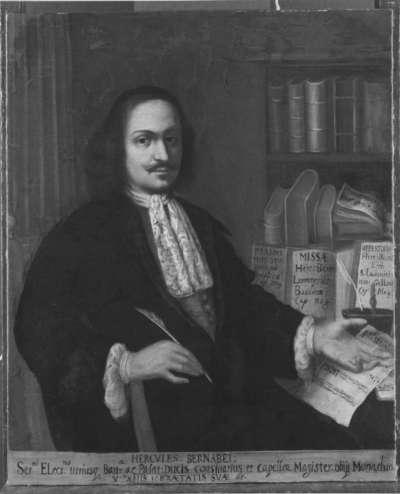 Bildnis des Hofkapellmeisters Hercules Bernabei, Kurfürstlich Bayerischer Rat