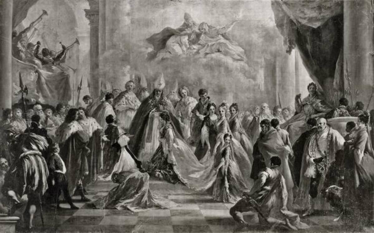 Krönung der Eleonora Magdalena von Pfalz-Neuburg zur Kaiserin