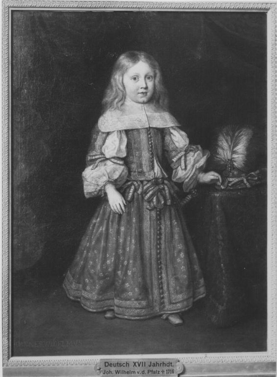 Pfalzgraf Johann Wilhelm als Kind