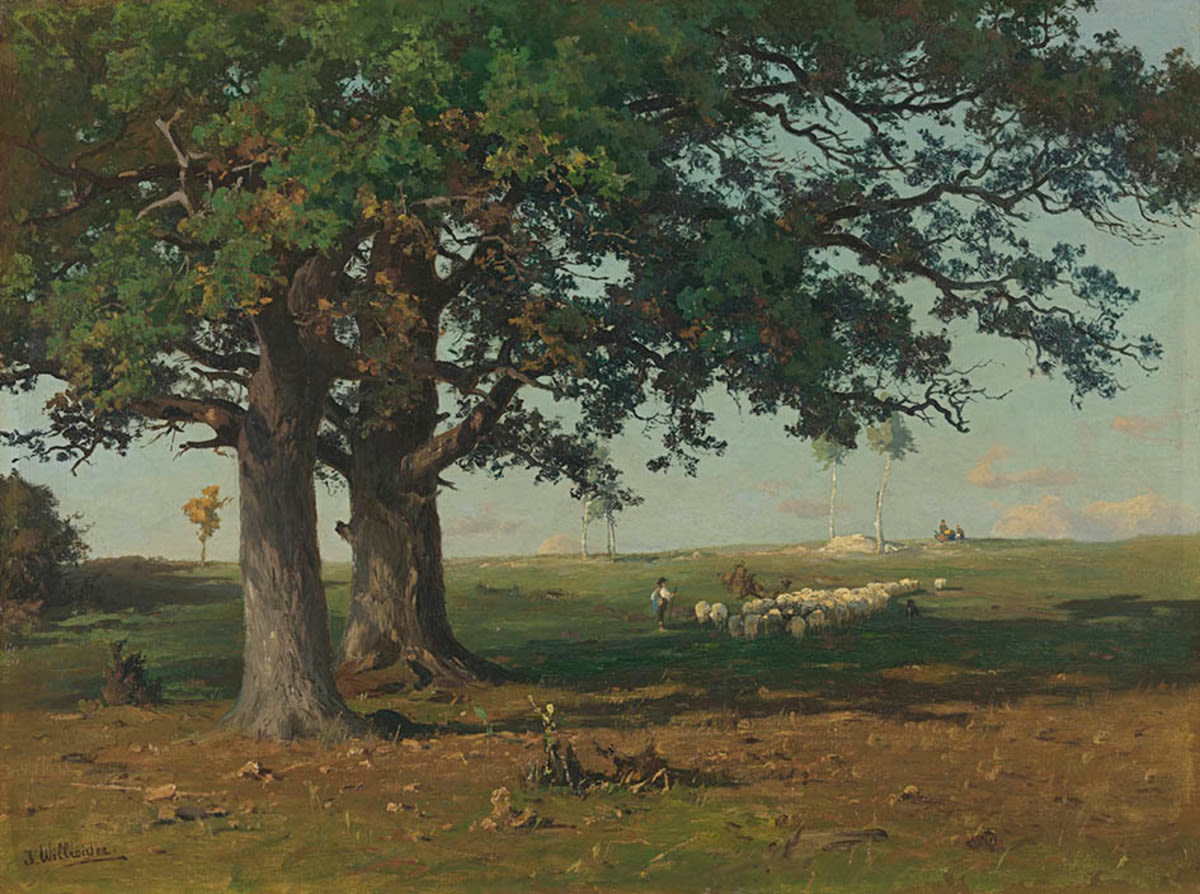 Landschaft bei Fürstenfeldbruck