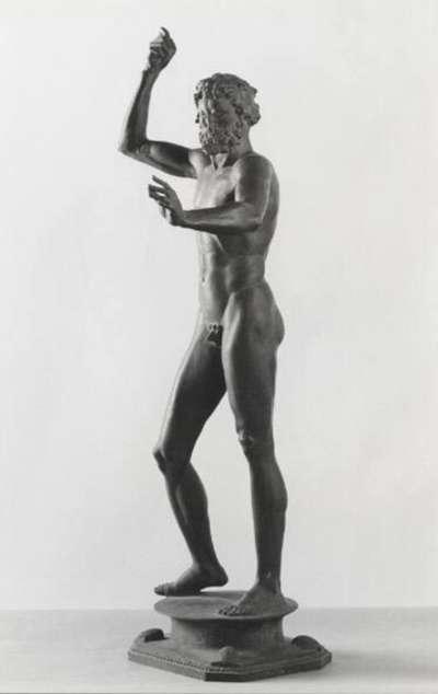 Stehender männlicher Akt (Neptun?)
