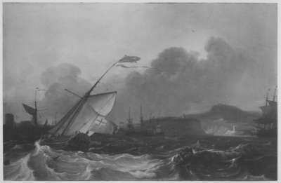 Die Reede von Plymouth