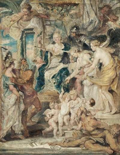 Die glückliche Regierung (Skizze zum Medici-Zyklus)