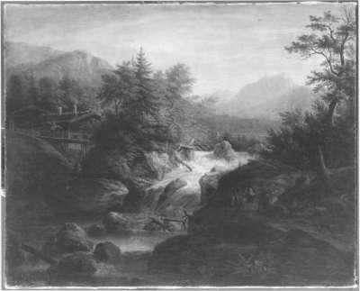 Der Sagenbach bei Wildbad Kreuth
