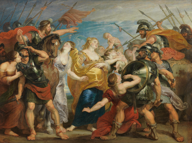 Die Aussöhnung der Römer und Sabiner