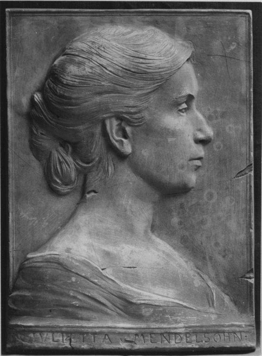 Die Sängerin und Pianistin Giulietta von Mendelssohn (1871–1955)