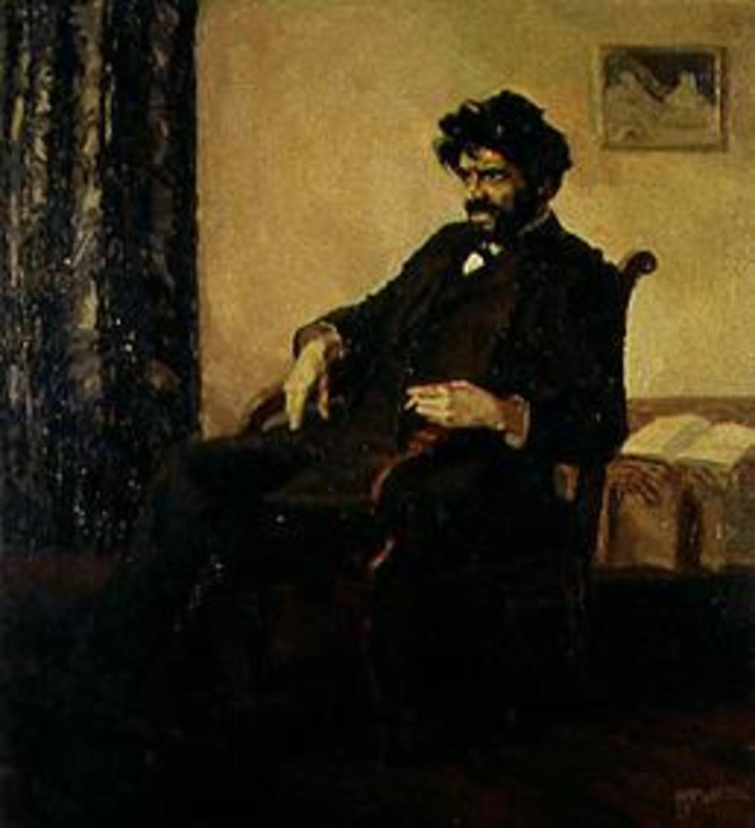Der Dichter Ludwig Scharf