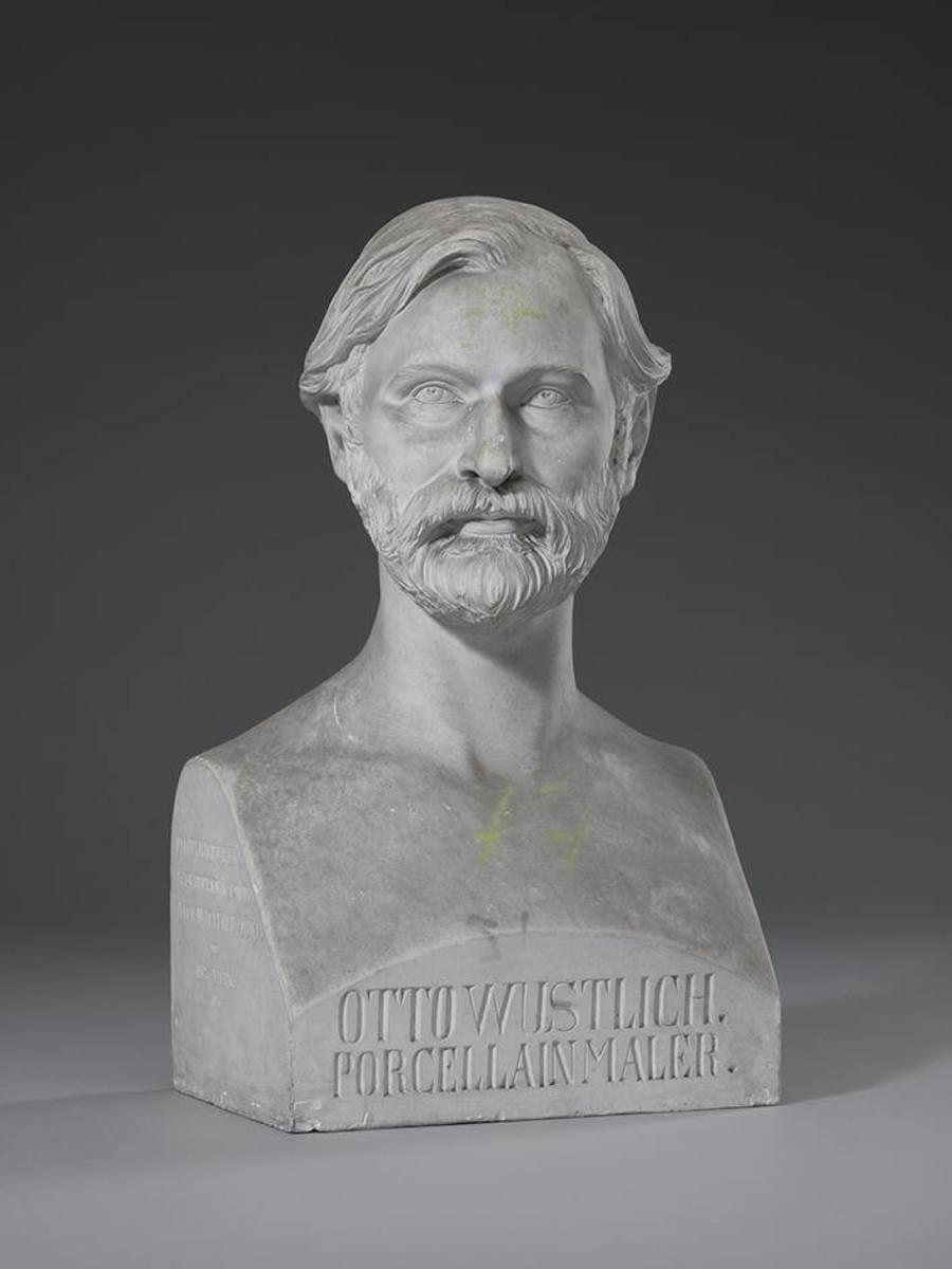 Der Porzellanmaler Otto Wustlich (1819 - 1886)