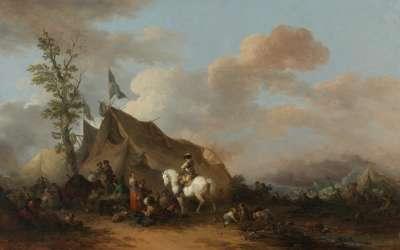 Ein Feldlager