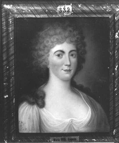 Maria Wilhelmine Auguste, Gemahlin des Erbprinzen Max Joseph von Birkenfeld