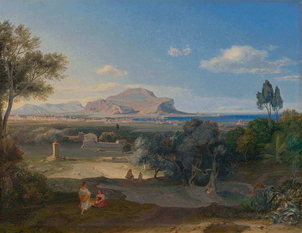 Palermo mit dem Monte Pellegrino